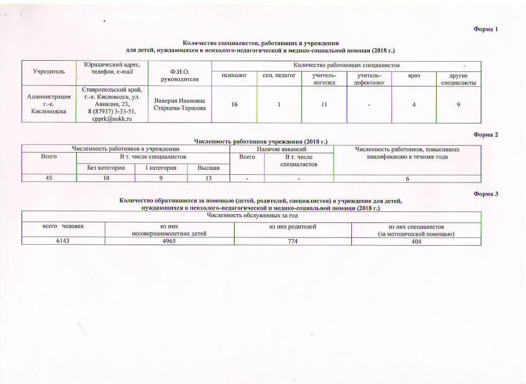 Годовой отчет о деятельности МБУ ЦППРиК Лист 3
