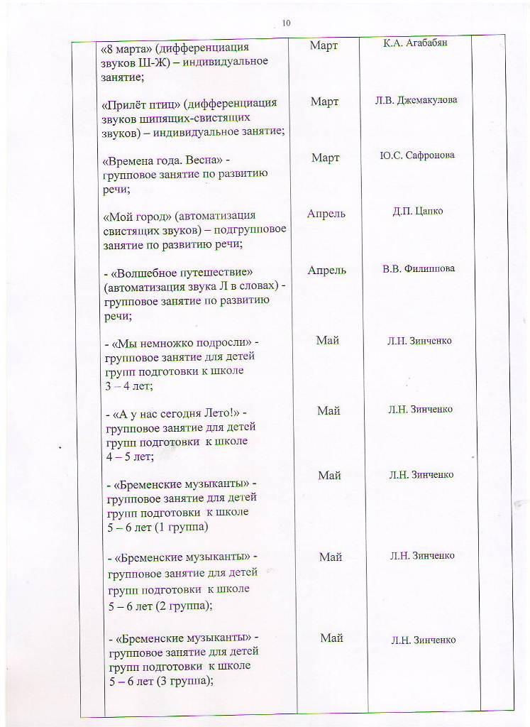 План работы МБУ ЦППРиК на 2017 год Лист 10