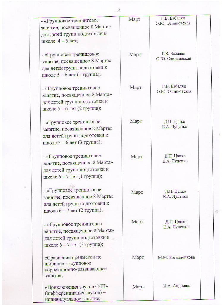 План работы МБУ ЦППРиК на 2017 год Лист 9