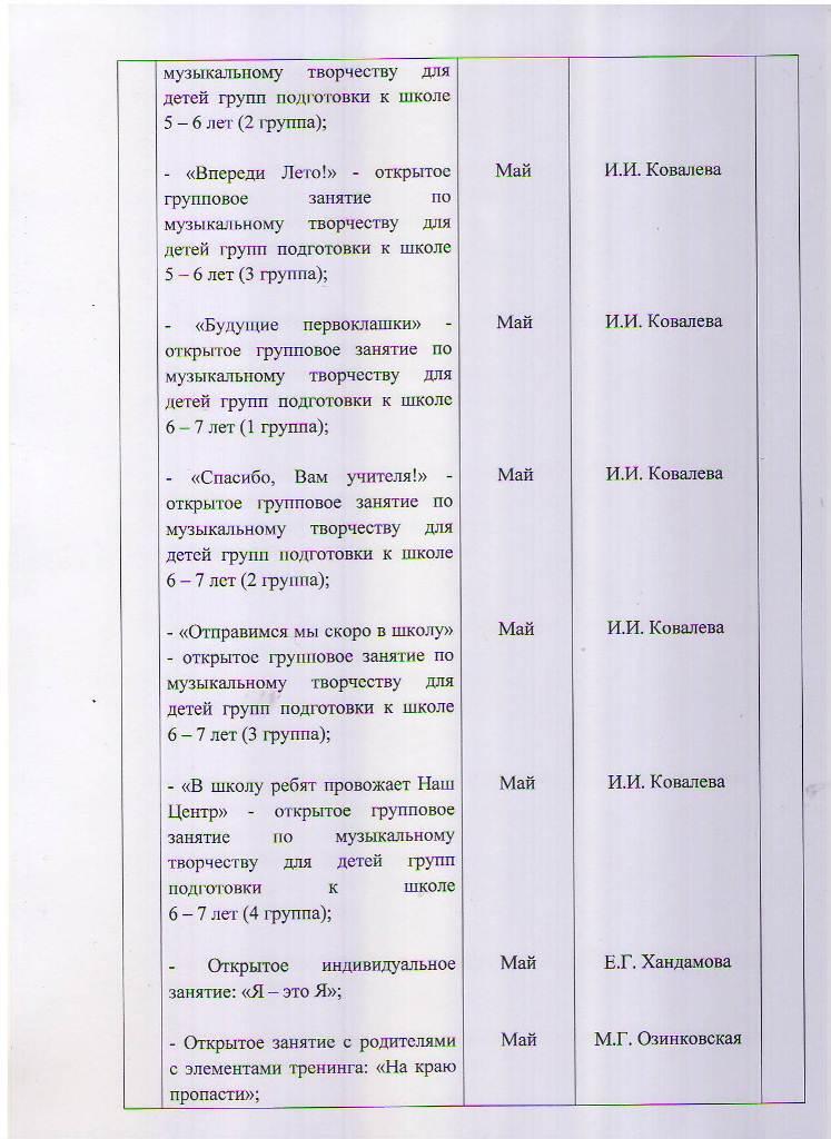 План работы МБУ ЦППРиК на 2018 год Лист 11