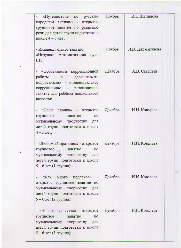 План работы МБУ ЦППРиК на 2018 год Лист 14