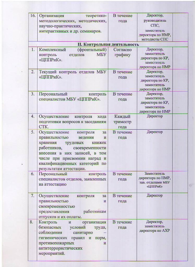 План работы МБУ ЦППРиК на 2018 год Лист 5