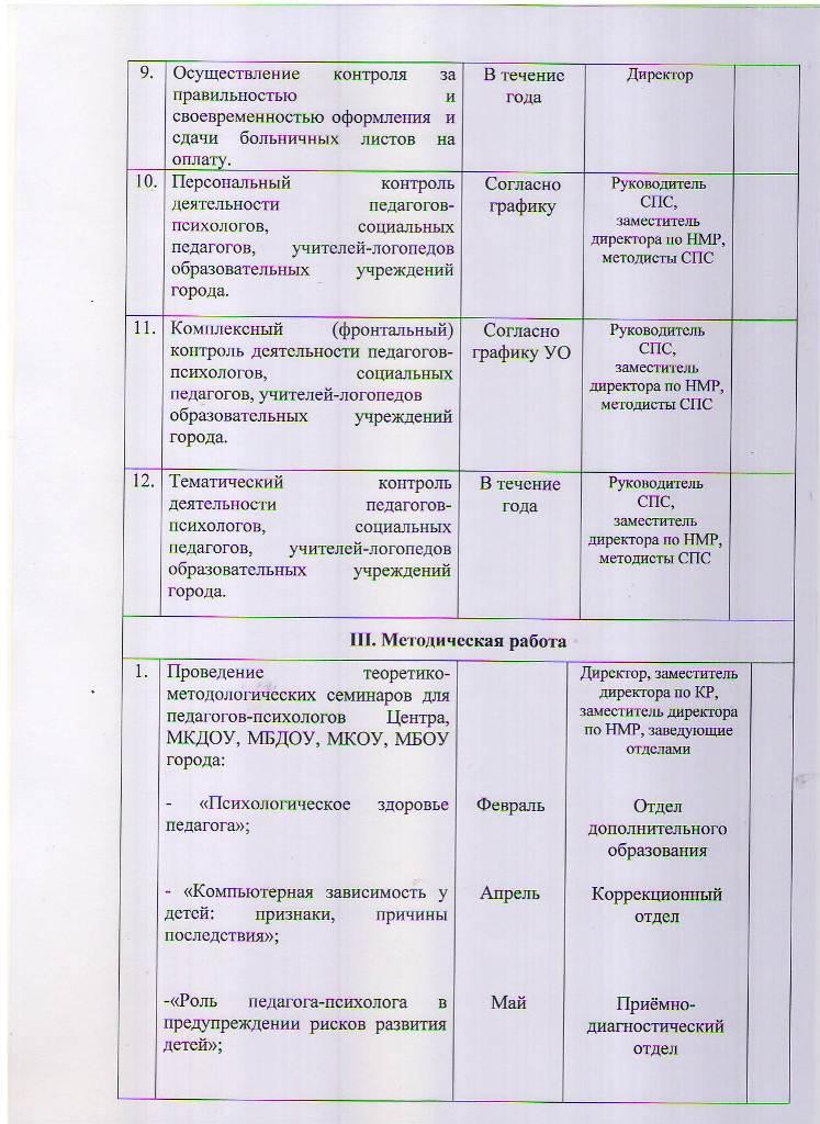 План работы МБУ ЦППРиК на 2018 год Лист 6
